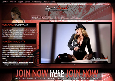 lynda leigh brand new website